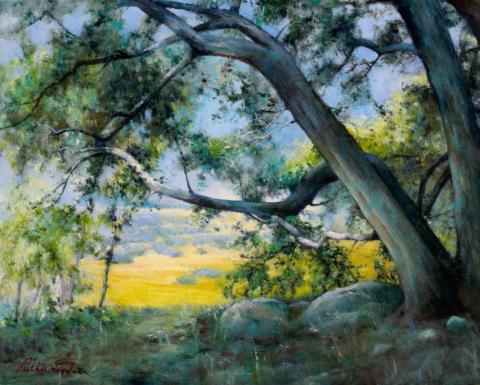 Arroyo Oak 16 x 20 oil