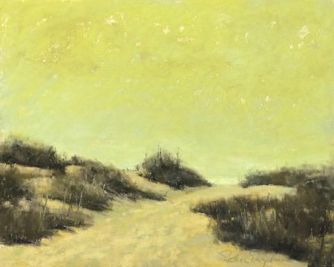Dune Grass 8 x 10 pastel