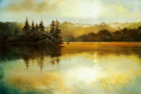 Highland Lake 20 x 30 oil