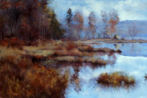 Marsh Pond 20 x 30 oil