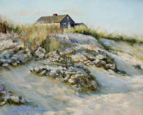 Nantucket 9 x 12 pastel