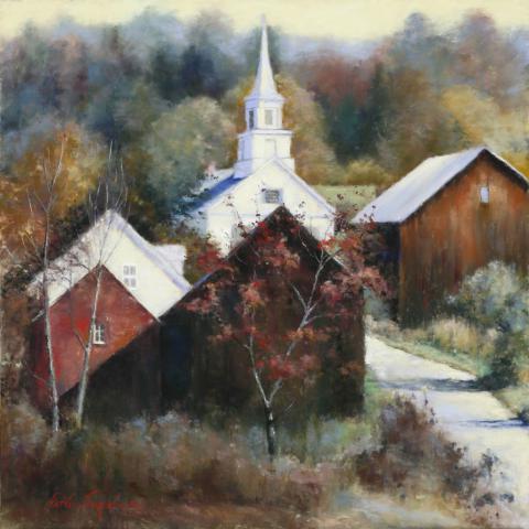 New England Veterans 20 x 20 pastel